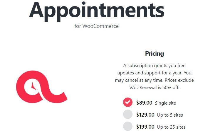 BookingWP WooCommerce预约