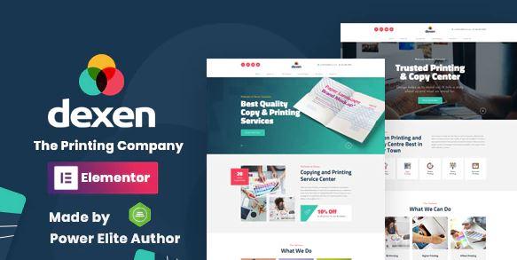 Dexen-印刷公司WordPress主题