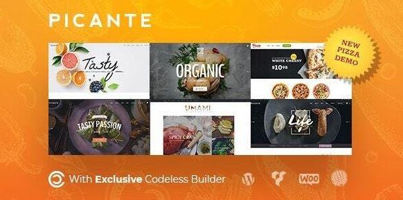 Picante   餐厅WordPress主题