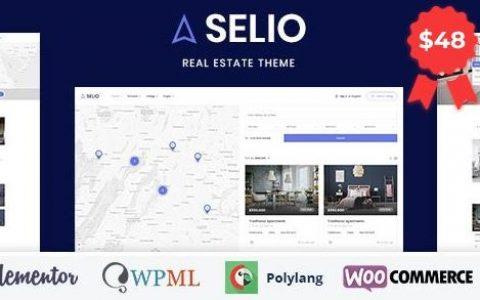 Selio –房地产目录WordPress主题