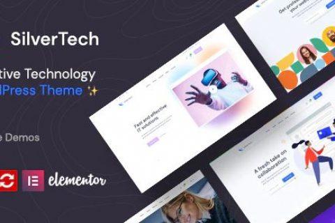 Silvertech v1.0.0 –创意WordPress主题