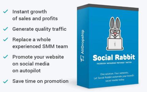 Social Rabbit –自动运行和自动推广的WordPress插件