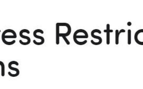 WordPress限制電子郵件域