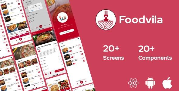 Foodvila v1.0 – React Native模板