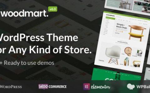 WoodMart v6.1.3 – WordPress 在线商店模板
