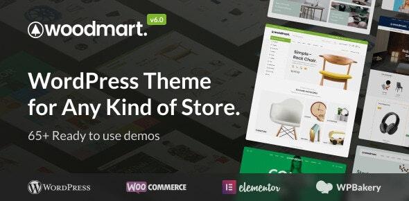 WoodMart v6.1.4 – WordPress 在线商店模板