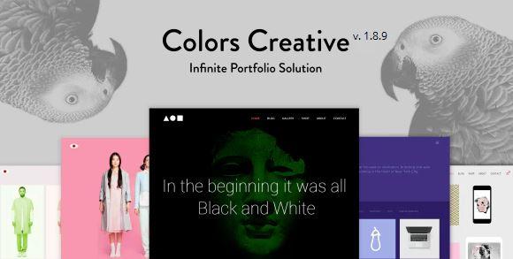 Colors Creative - 自由职业者和机构的投资组合