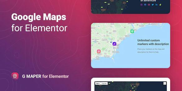 GMaper - Elementor 的谷歌地圖
