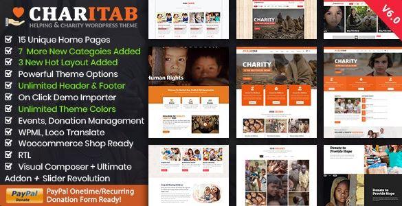 Charitab - 非营利慈善 WordPress 主题