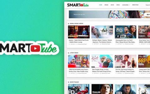 Smart Tube – 视频博客模板