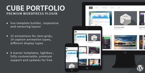 Cube Portfolio - 响应式 WordPress 网格插件