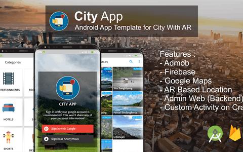 City App v2.4.0(Firebase、Admob、增强现实)