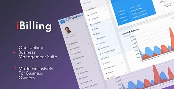 iBilling v4.9.0 – CRM、会计和计费软件