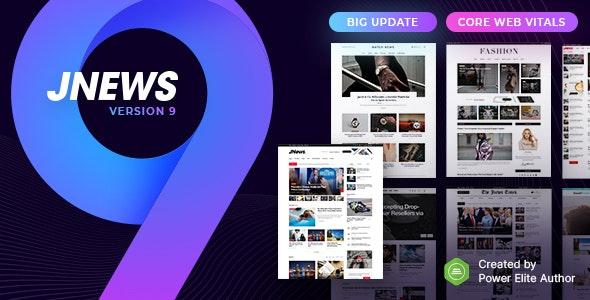 JNews v9.0.2 – WordPress 新闻模板