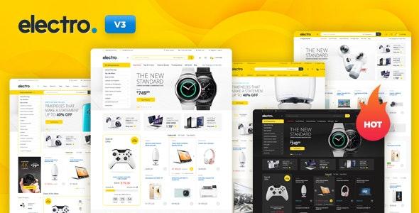 Electro v3.0.4 – WordPress 数字商品商店模板