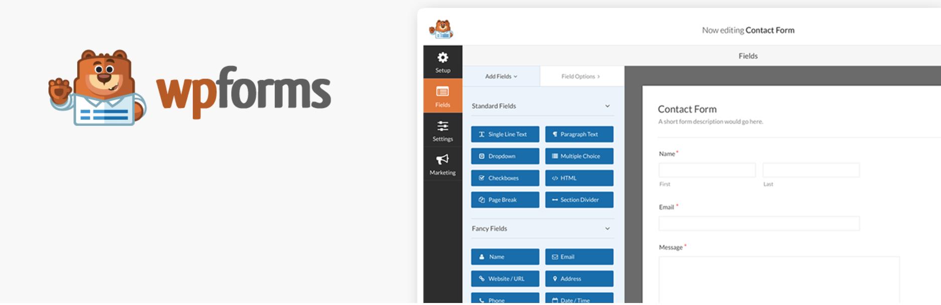 WPForms WordPress 插件