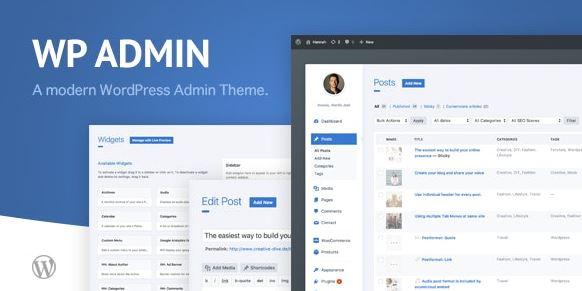 wphave Admin - 一个干净现代的 WordPress 管理主题