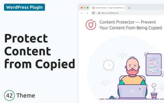 WordPress 内容保护器 - 阻止您的内容
