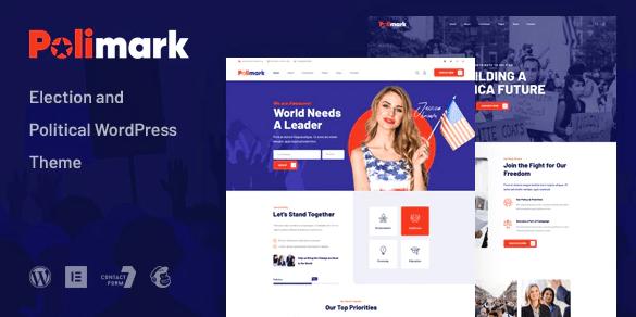 Polimark - 选举和政治 WordPress 主题