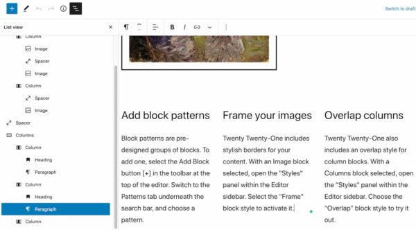 wordpress-5-8-paving-the-way-to-full-site-editing-3 WordPress 5.8:为全站点编辑铺平道路