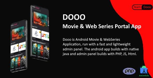 Dooo v1.4.0 - 电影和网络系列门户应用程序