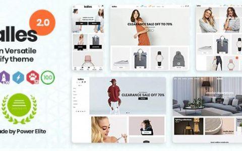 Kalles - 干净,多功能,响应式 Shopify 主题