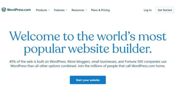 WordPress.com 免费博客平台