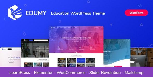 Edumy v1.2.3 – LMS 在线教育课程 WordPress 主题