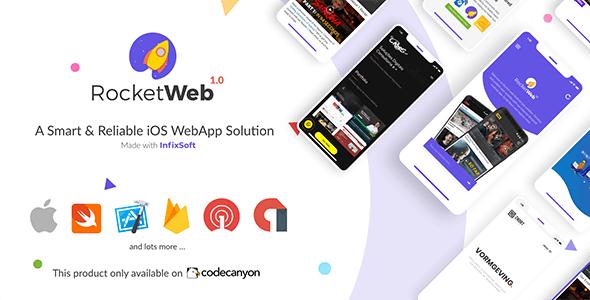 RocketWeb v1.0.6 | 可配置的 iOS WebView 应用程序模板