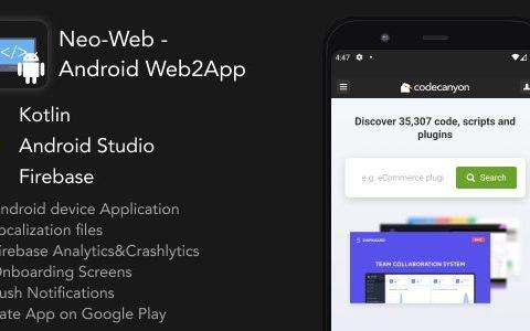 Neo-Web v1.0 – Android Web2App