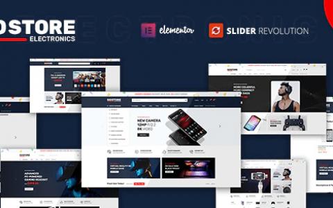 GoStore – Elementor WooCommerce WordPress 主题