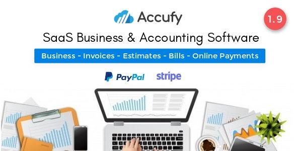 Accufy v2.1 – SaaS 商业和会计软件