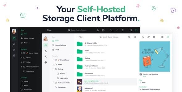 Vue 文件管理器 v1.8.3.11 – 即时存储、共享和获取文件 – 在 Vue 和 Laravel 上构建私有云