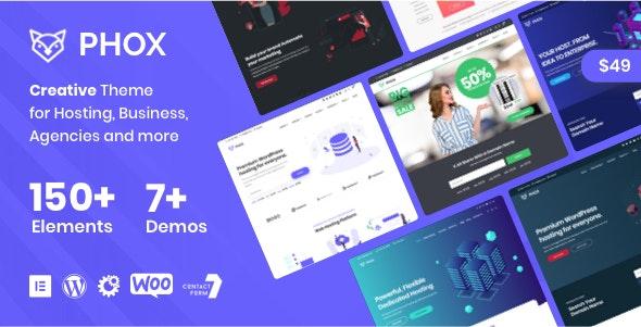 Phox v2.0.2 – 托管 WordPress 和 WHMCS 主题
