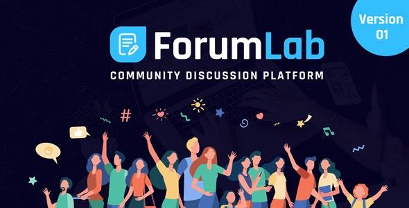 ForumLab v1.0 – 社區討論平台