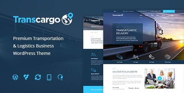 WordPress的Transcargo运输主题