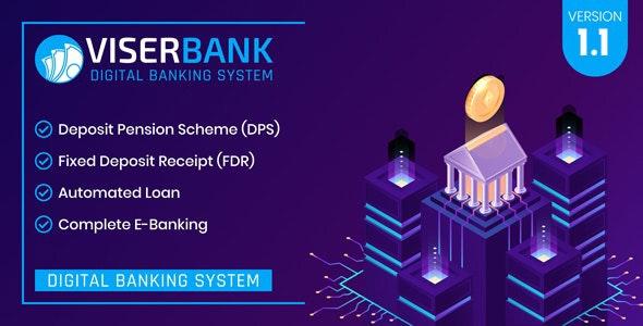 ViserBank v1.1 – 数字银行系统