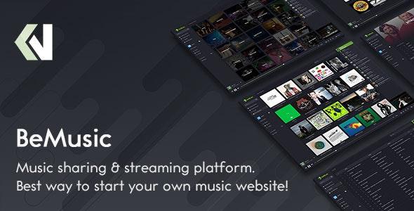 BeMusic v2.5.2 – 音乐流媒体引擎 + Android 应用
