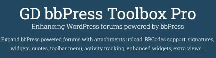 GD bbPress 工具箱 Pro