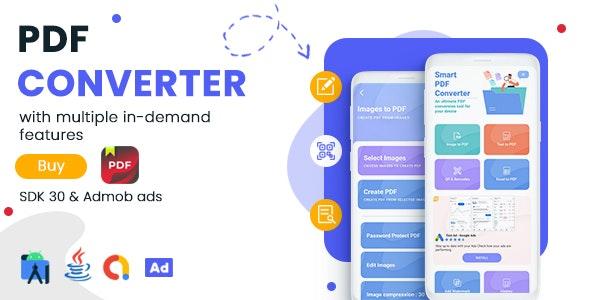 适用于 Android v1.0 的 PDF 转换器和 PDF 编辑器 – Admob 广告