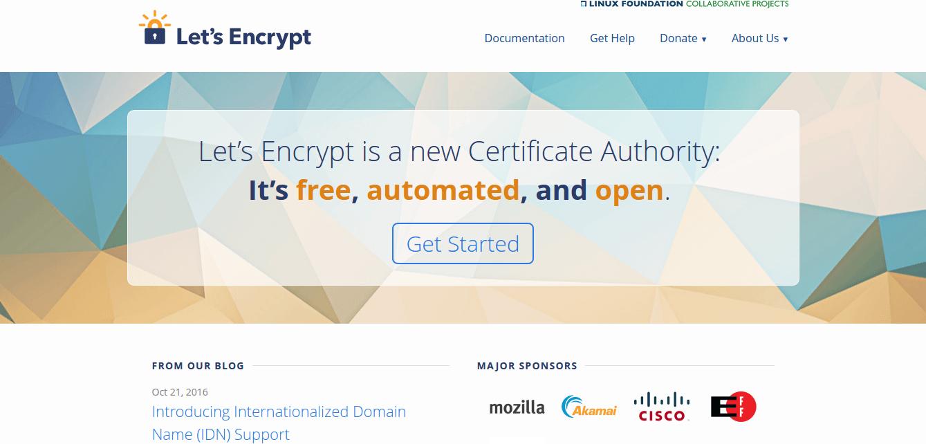 WordPress的廉价SSL证书:让我们加密