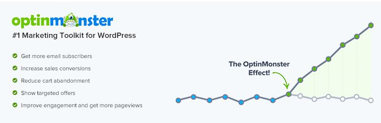 OptinMonster的营销工具包–弹出窗口,电子邮件优化表单和新闻订阅者