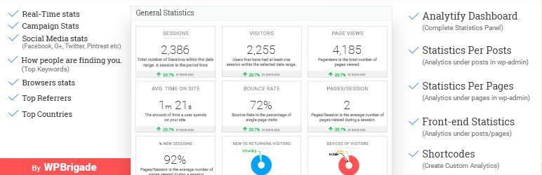 Analytify的WordPress Google Analytics仪表板插件