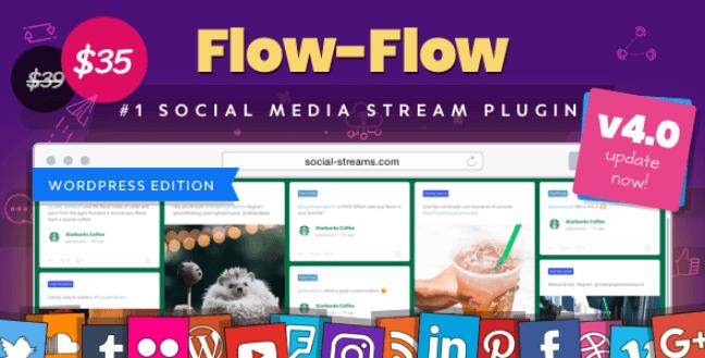 Flow-Flow  -  WordPress社交流插件