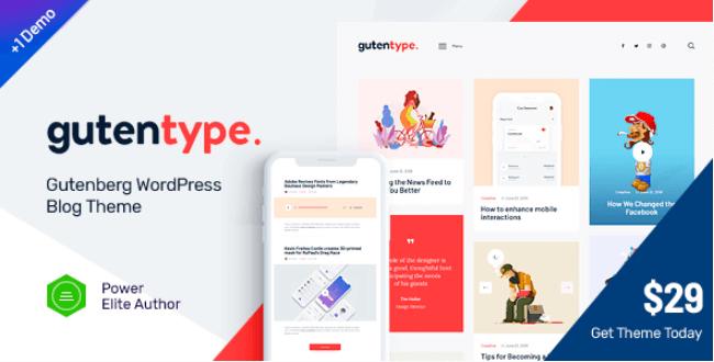 Gutentype WordPress主题