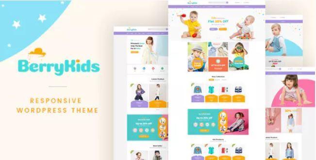 BerryKid  -  Baby Store WooCommerce WordPress主题
