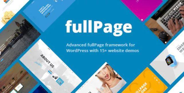 FullPage  - 全屏多概念主题