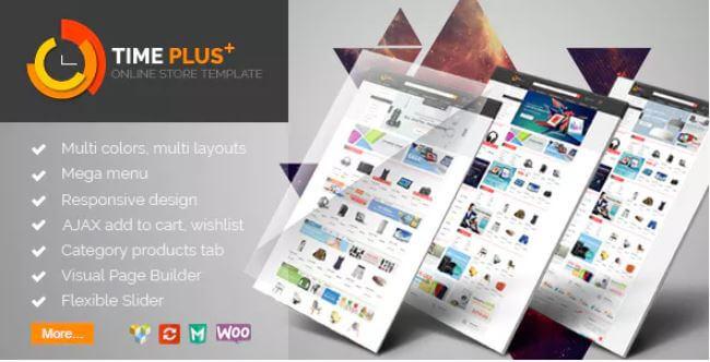 TimePlus  - 超级商店响应WooCommerce主题