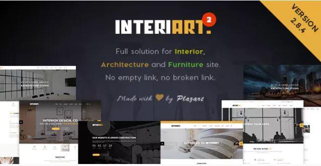 InteriArt  - 家具和室内装饰WordPress主题